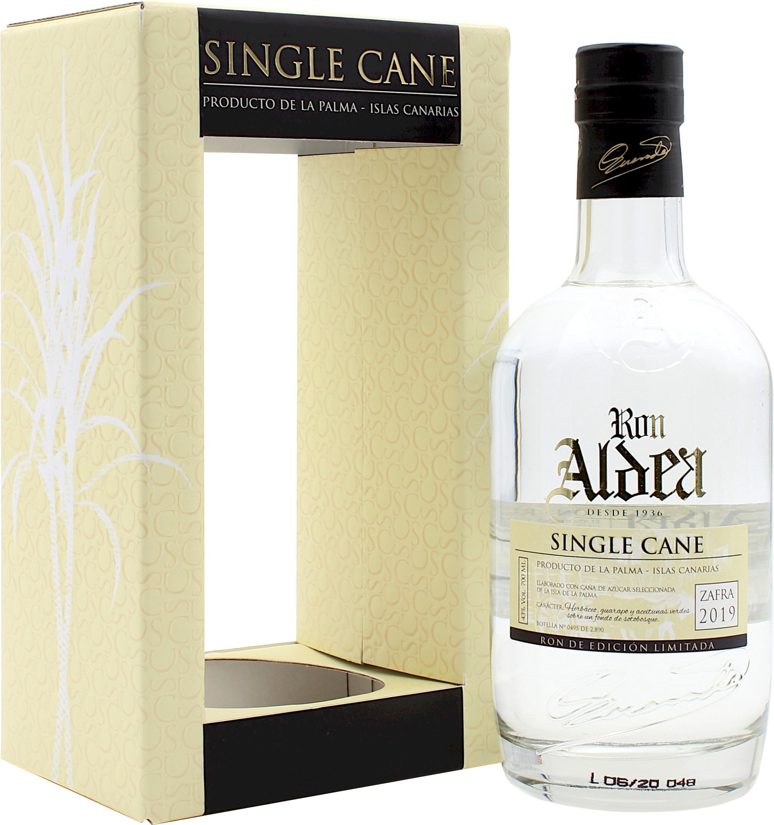 Ron Aldea Single Cane Rum 2019 43.0% 0,7l