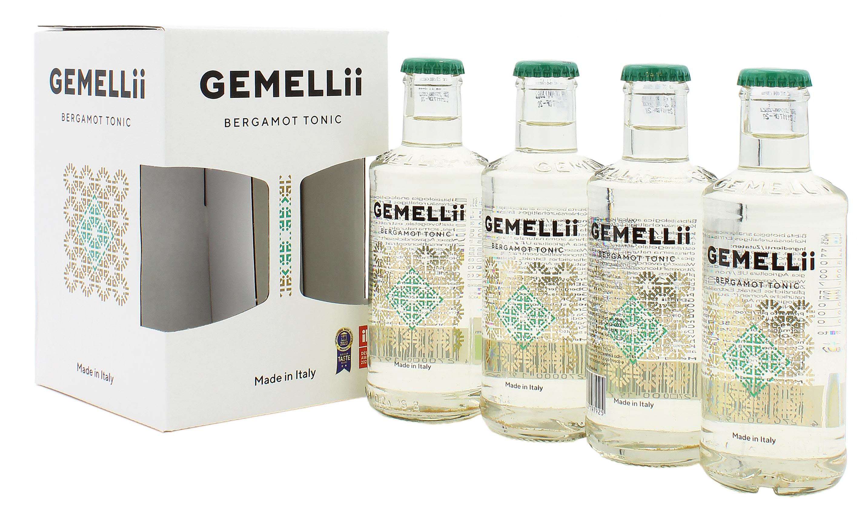 4er Pack GEMELLii Bergamot Tonic 4x0,2l (mit Fenster)