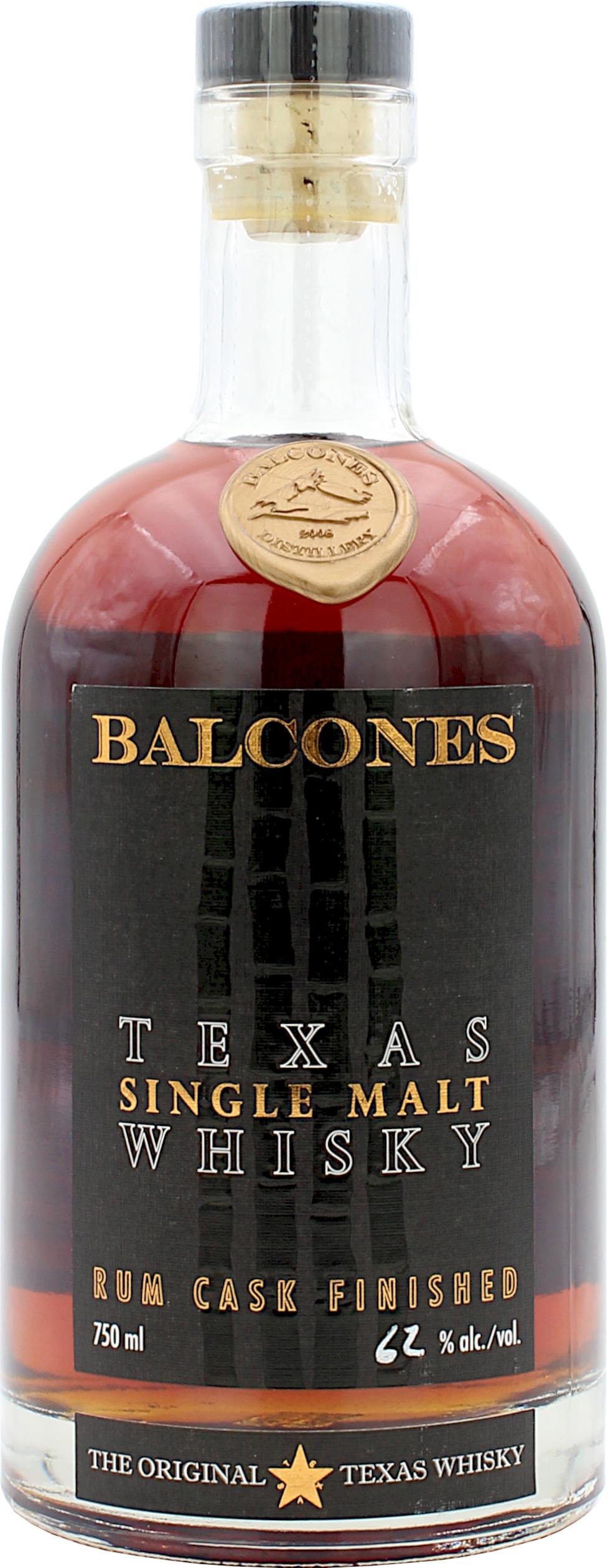 Balcones Texas Single Malt Rum Cask Finish Limited Edition 2020 62.0% 0,7l