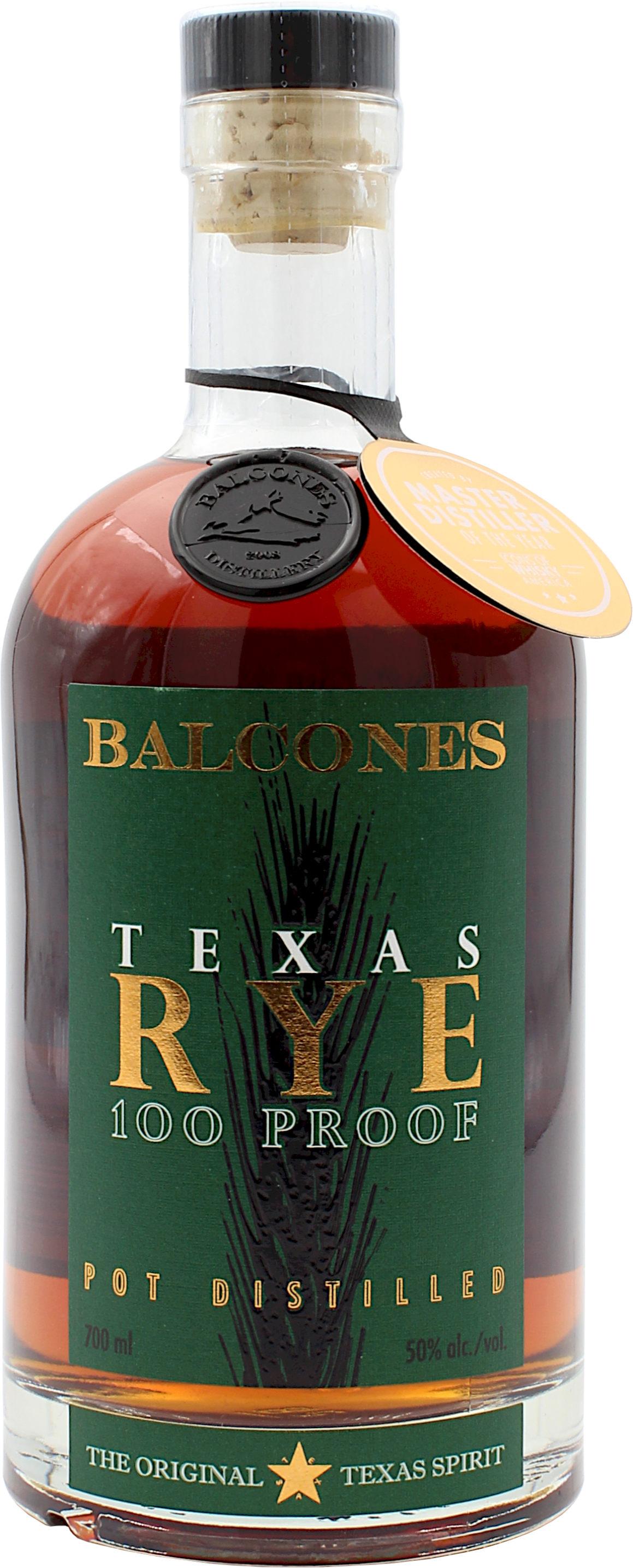Balcones Texas Rye 100 Proof 50.0% 0,7l
