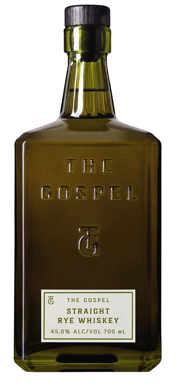 The Gospel Straight Australian Rye Whiskey 45.0% 0,7l