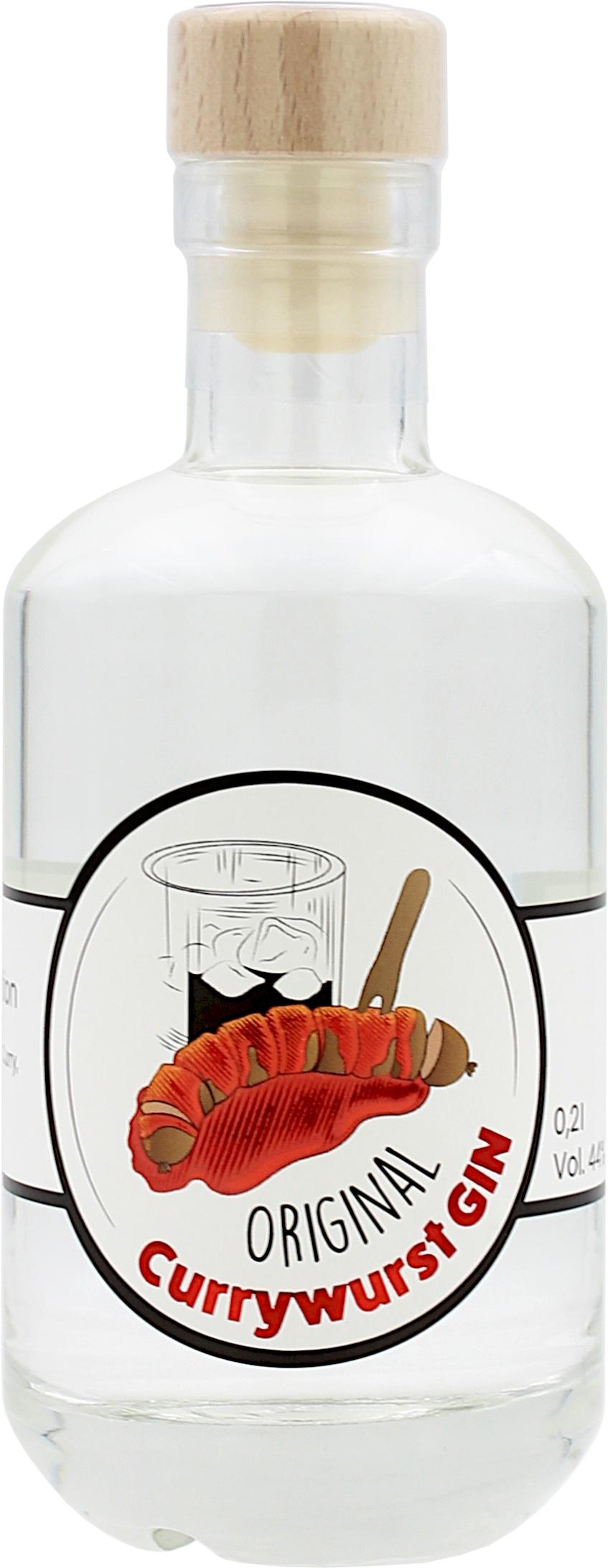 Currywurst Gin 41.0% 0,2l