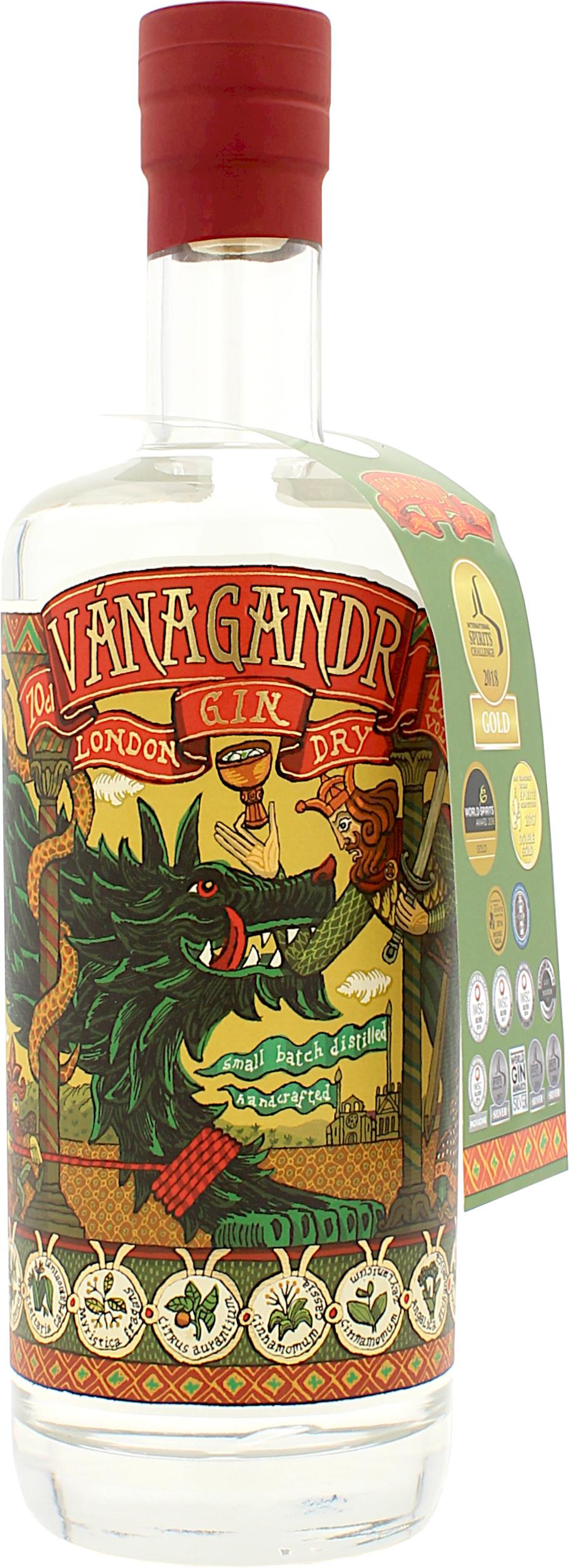 Vanagandr London Dry Gin 43.0% 0,7l