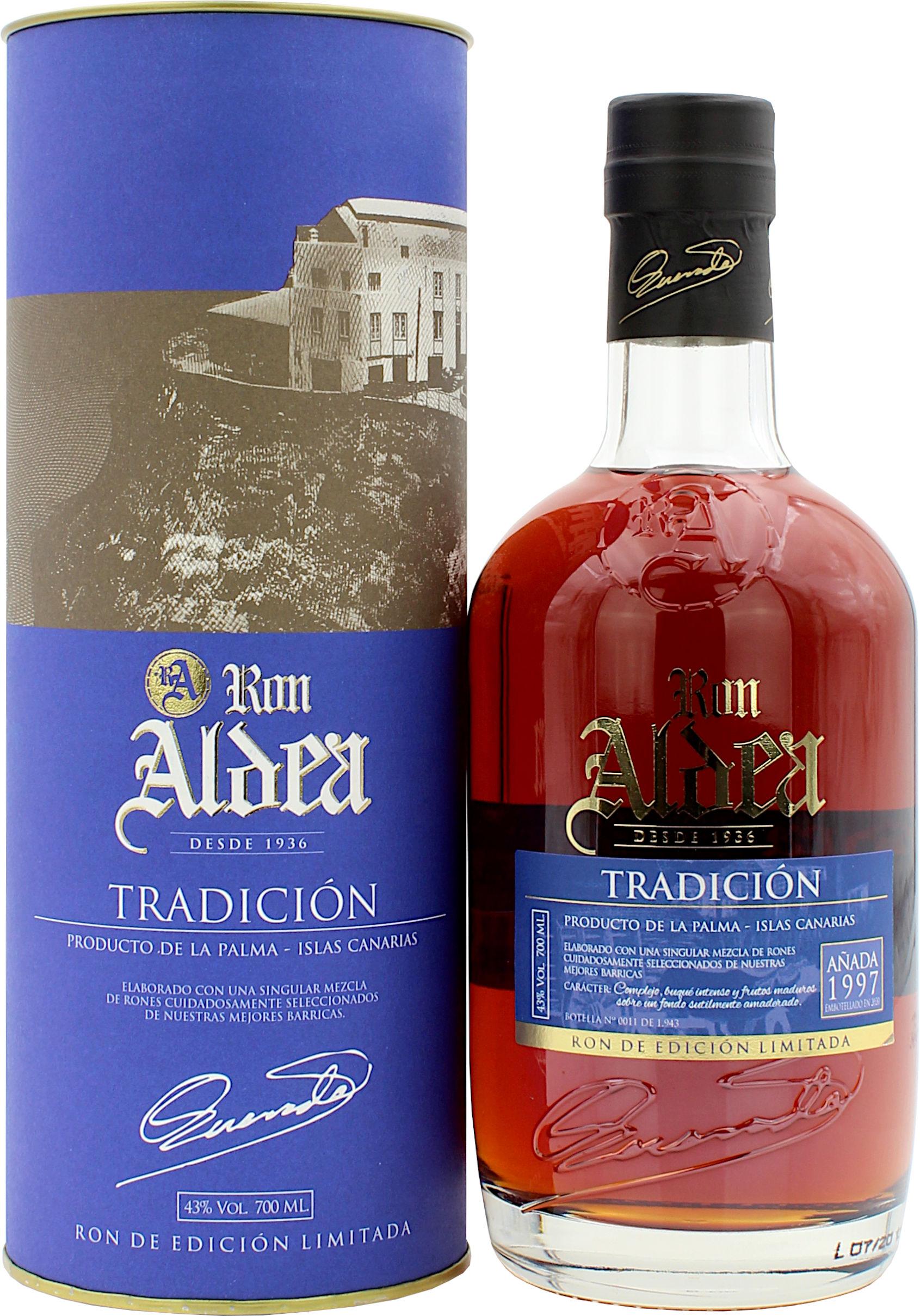 Ron Aldea Tradicion 22 Jahre 43.0% 0,7l